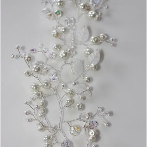 Accessories - Handcrafted Glass beads hair vine